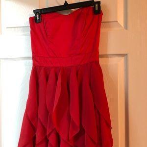 Hot pink dress; size 0